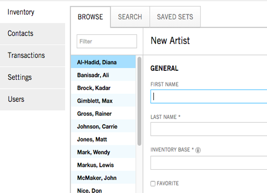 This is a quick overview of how to add artists to your galleryManager account